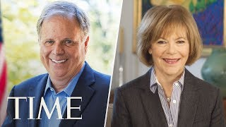 Doug Jones And Tina Smith Are Sworn Into The U.S. Senate, Narrowing GOP Majority | TIME