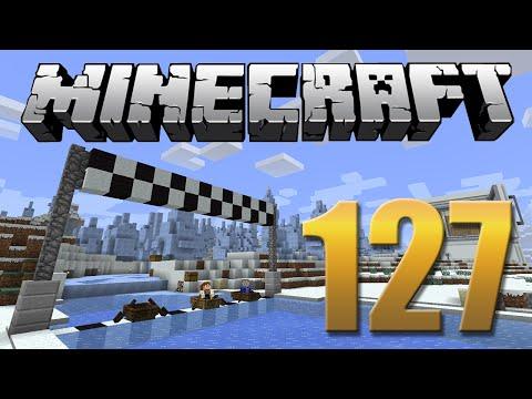 Corrida no Gelo - Minecraft Em busca da casa automática #127.