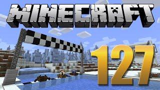 corrida no gelo minecraft em busca da casa automtica 127