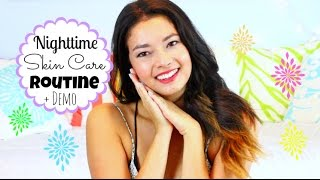 Nighttime Skin Care Routine + Demo! ♡  50VoSummer Thumbnail