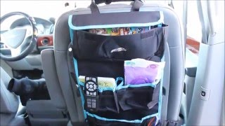 Back Seat Car Organizer and Visor by Fancy Mobility