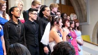 Songbird - Kirsten Joy, the singing bride (wedding surprise)