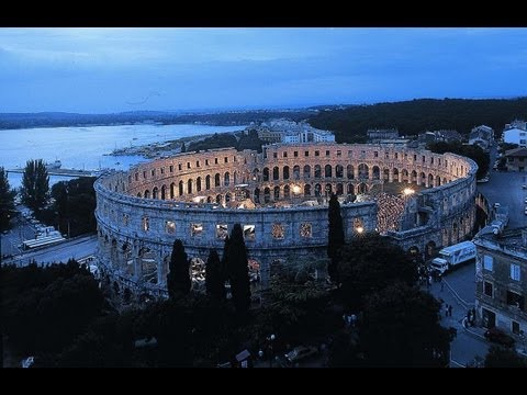 Pula & The Roman Amphitheatre | The Capital Of Istria [HD]