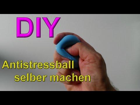 Antistressball Selber Machen Mit Schleim Stressball Selbst Basteln