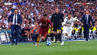 Cengiz Under Playing Against Real Madrid