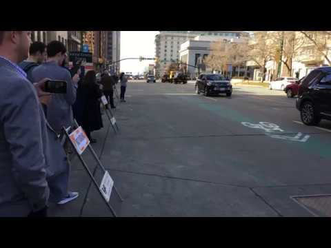 President Monson's  Funeral Procession