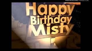 Happy Birthday Misty Rahul Bhagat