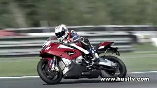 Troy Corser with BMW S 1000 RR in Brno