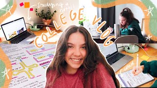 College Vlog: A Couple College Days in My Life, Studying, Zoom Classes, & Super Busy (yes, already.)