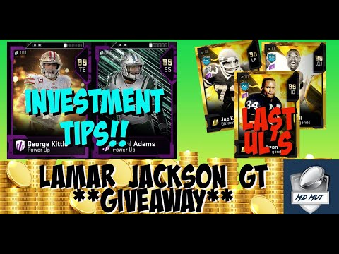 last-ul's-coming-tomorrow!!-investment-tips-**lamar-jackson-gt-giveaway**-madden-20-ultimate-team