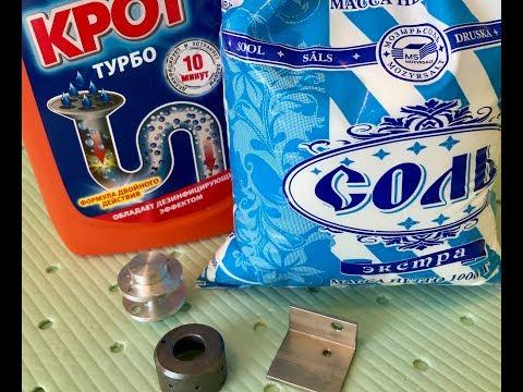 Воронение в домашних условиях алюминия
