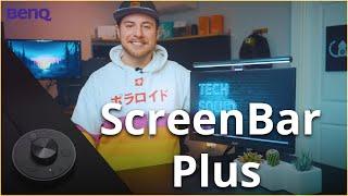 BenQ ScreenBar Plus - LED Desk Lamp | TechSquidTV
