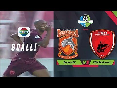 Goal Sandro Ferreira Borneo Fc 1 Vs 2 Psm Makassar