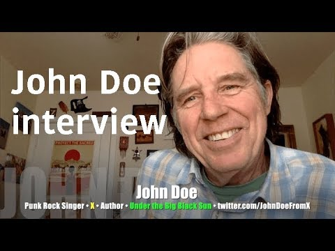 LA punk history spews from X co-founder John Doe! INTERVIEW