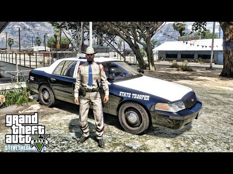 GTA 5 MODS LSPDFR 0.4 - TEXAS PATROL!!! (GTA 5 REAL LIFE PC MOD) thumbnail