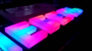 Объемные световые буквы RGB LED Pixel(, 2014-09-24T12:51:41.000Z)