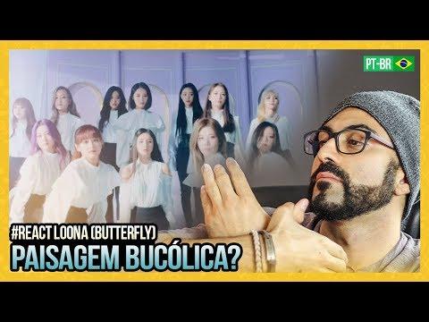 "REAGINDO a MV 이달의 소녀 LOONA ""Butterfly"""