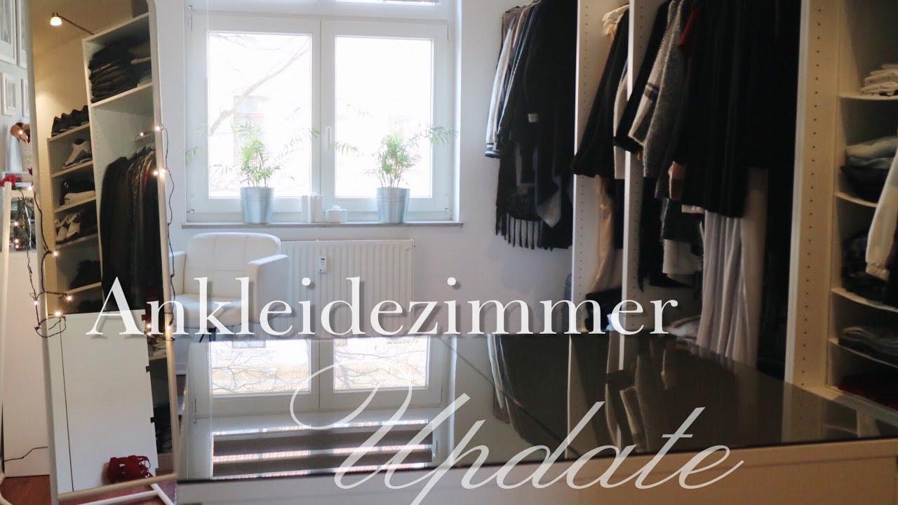 Ankleidezimmer ikea pax  Ankleidezimmer Update 12.2016 || Closet Tour • SYSTEM ...