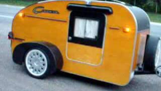 Mini Trailer Caracol - Panorâmica Externa