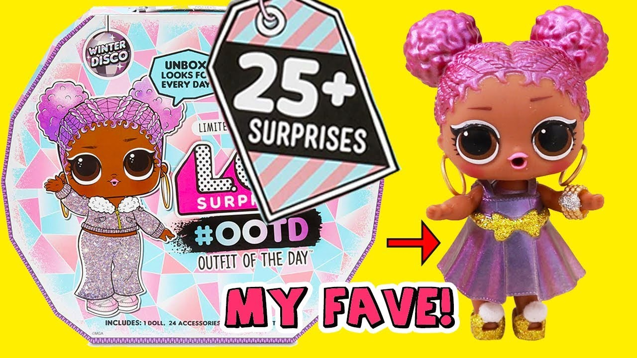 [VIDEO] - Snow Jamz Outfit of the Day ! Toys and Dolls Fun for Kids with LOL Surprise  | SWTAD 4