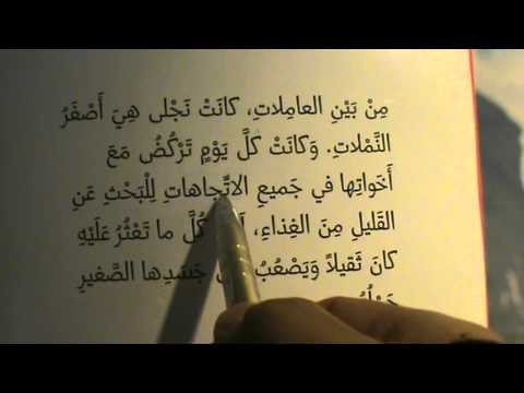"Part 1 ""Ant Najla"" Story Telling Easy STANDARD Arabic Arabisch lernen leicht ""Najla die Ameise"" SUB"