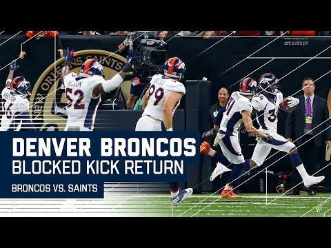 Broncos Steal Win with Blocked Extra Point Return After Brees