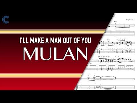Piano - I'll Make a Man Out of You - Mulan -  Sheet Music, Chords, & Vocals