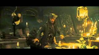 Удаленная сцена Пираты карибского моря