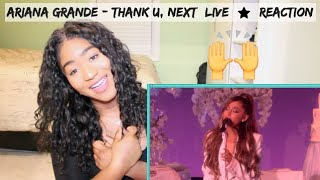 Ariana Grande - thank u, next (Live on Ellen/2018) | REACTION