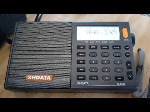Tecsun PL-600 VS Tecsun PL-680 VS XHDATA D808 On Telescopic Antenna