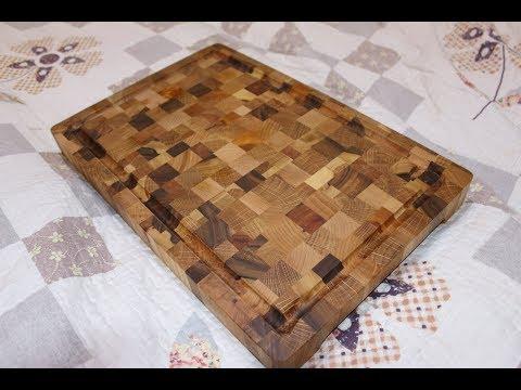 end grain cutting board for meet