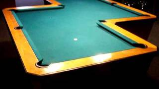 Crazy Z Shaped Pool Table Unique Odd Pool Table Come Play A Game Www.quebilliards.com