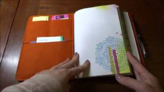 roterfaden a5 bullet journal walk through traveler s notebook from germany