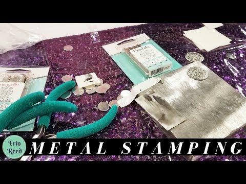 Super Easy Metal Stamping @ Pinners