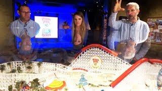 Pixar Pier model tour with Walt Disney Imagineers at Disneyland Resort