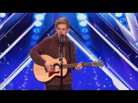 America's Got Talent 2017 Chase Goehring Singer Songwriter Is Next Ed Sheeran Full Audition S12E02