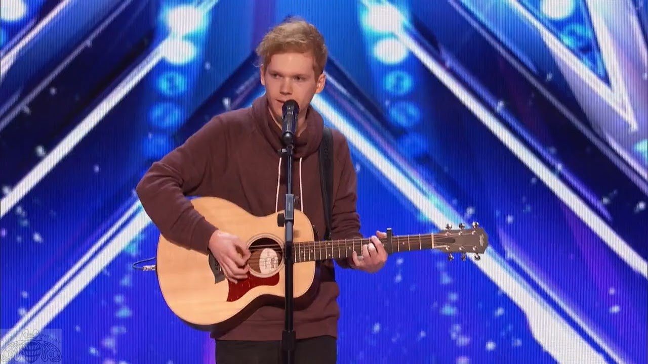 Americas got talent 2017 audition 6 - America S Got Talent 2017 Chase Goehring Singer Songwriter Is Next Ed Sheeran Full Audition S12e02