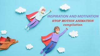 Stop-Motion Animation Compilation | Margaret Scrinkl
