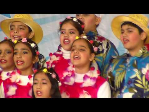Dancing to Hawaii tunes   Maxfort School   Class 4-E   Dec 2016   Best of luck