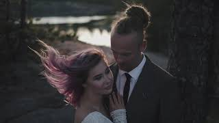 Этническая крутая свадьба в стиле бохо в Карелии