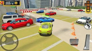 multi level 4 parking 8 muscle car android ios gameplay