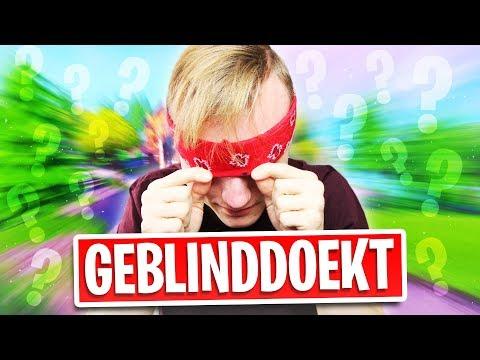 GEBLINDDOEKT LANDEN & IK DOE 'T NOG GOED OOK...