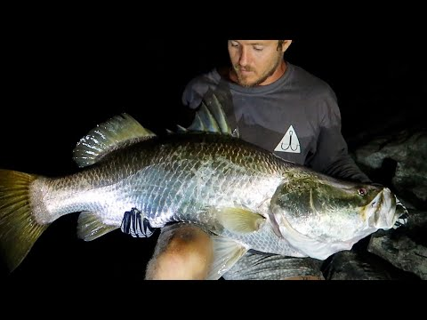 Fishing Tropical Islands in Search of Monster GT | Part 6 BIG Barramundi The last CAST!!