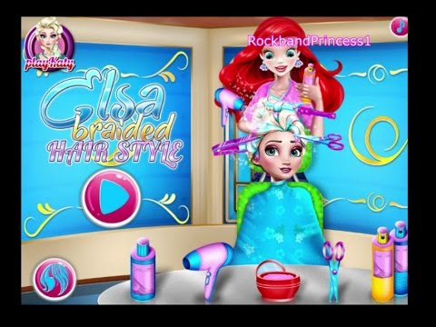 Princess Hair Salon Games To Play - YouTube