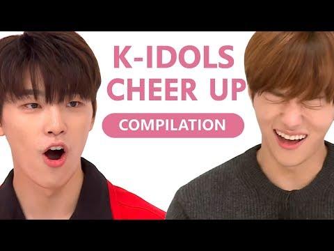 K-IDOLS DANCING TO TWICE CHEER UP (COMPILATION)