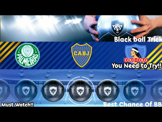 4 85 MB) How to Get Black Ball In Silver Agent Trick Pes 19