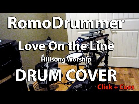 Love On The Line DRUM COVER - Click + Cues