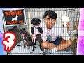 Escape The Dog Cage Challenge Part 3!
