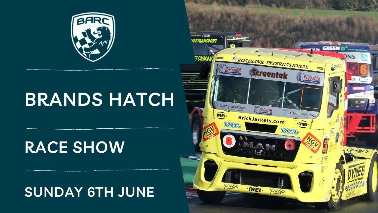 Download BARC LIVE   Race Show   Brands Hatch   June 6 2021