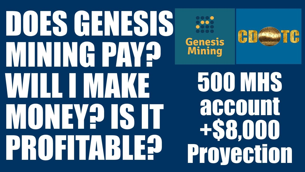 Is Genesis Dash Mining Profitable? See for Yourself +$8,000 Expected